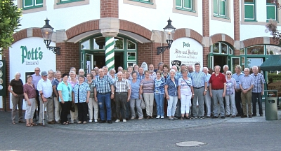 """Die  """"Alten Garde"""" des Schützenvereins Essern besuchte das Münsterland"""