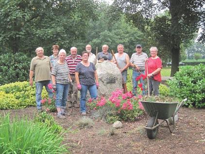 2021-07-20 Arbeitseinsatz Alte Garde©Schützenverein Essern von 1910