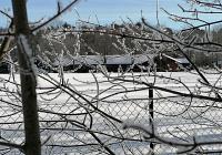 Das Sportzentrum im Winterglanz
