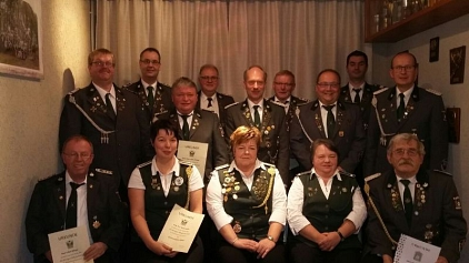 Jahreshauptversammlung 2018©Schützenverein Essern von 1910