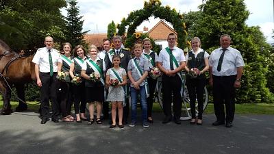 Ausgelassen Schützenfest gefeiert – mit Andreas Gäbe als neuem König