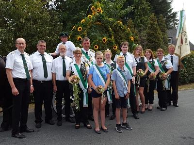 Ausgelassen Schützenfest gefeiert – mit Carsten Gosewehr als neuem König